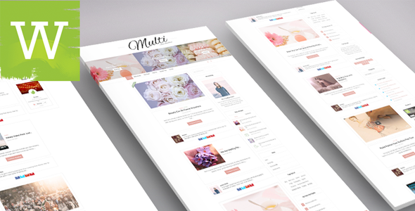 W309 | Multi-Author | Multi-Color | Clean And Minimal WordPress Blog Theme
