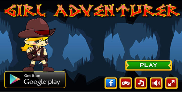 Girl Adventurer - CodeCanyon Item for Sale