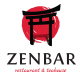 ZenBar Asian Restaurant & Teahouse Logo Template