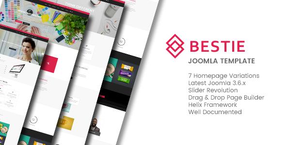 Download Bestie - Multipurpose Joomla Template