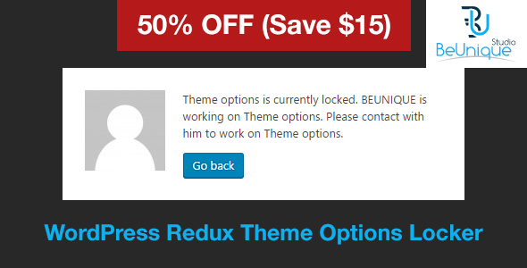 Redux Theme Options Locker (WordPress) Redux Theme Options Locker (WordPress) Preview