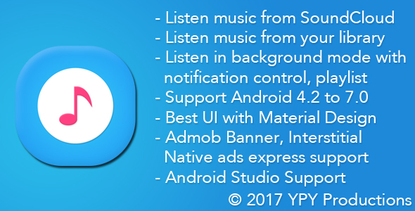 CodeCanyon xMusic Android Online Offline Music Player 19626502