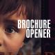 Brochure opener