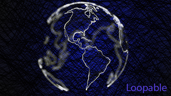 VideoHive Earth Background 19627921