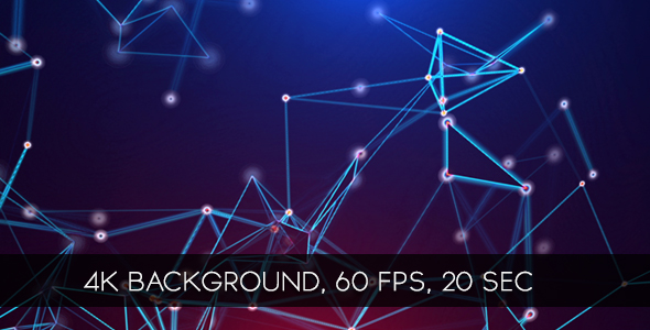 VideoHive Bright Crystal Lattices Background 19628186