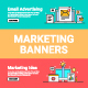 Digital Marketing Web Banners