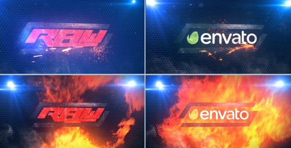 VideoHive RAW Style Titles 19628634