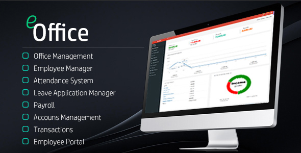 eOffice - Ultimate HRM & Accounts