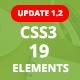 ePack -  19 CSS3 Element Packages v1.2