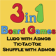 Board Games Unity3D Project+Admob Integrated+Supported for Android & iOS+3 Board Games included