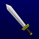 Lowpoly Sword