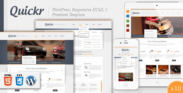 Quickr WordPress Theme