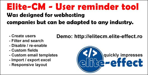 Download Elite-CM - User reminder tool