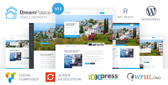 DreamPalace - Single Property Real Estate Theme