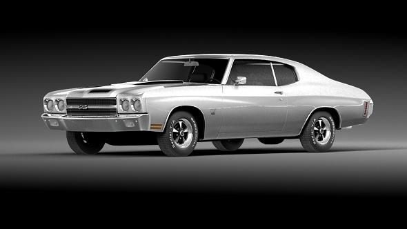 3DOcean Chevrolet Chevelle SS 1970 19631537