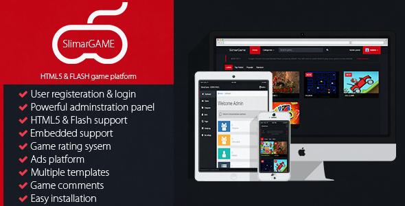 Download SlimarGame - HTML5, FLASH Game Platform