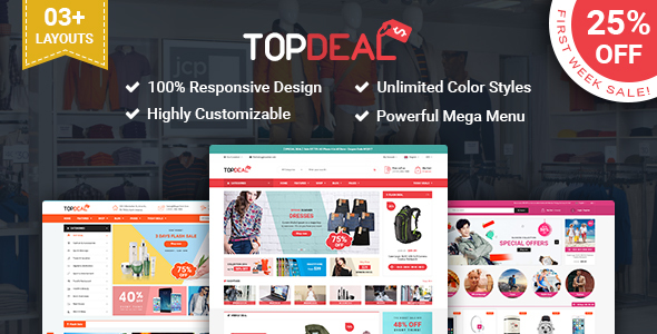 SP TopDeal - Multipurpose Responsive PrestaShop Theme