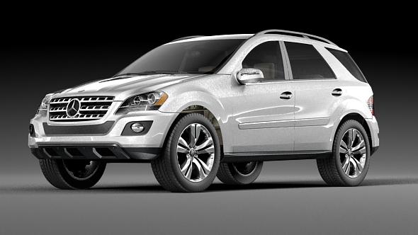 Mercedes ML 500 - Element 3D - 3DOcean Item for Sale