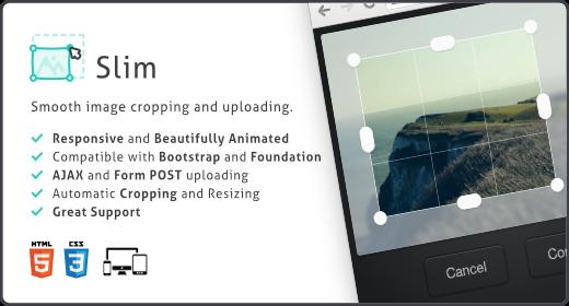Slim Image Cropper for WordPress