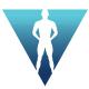 Virtual Human V Letter Logo