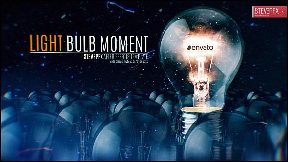 VideoHive Light Bulb Moment Logo Reveal 19633042