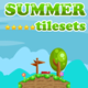 Platformer Tileset for Summer 2D Game