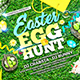 Easter Egg Hunt Flyer Template 2
