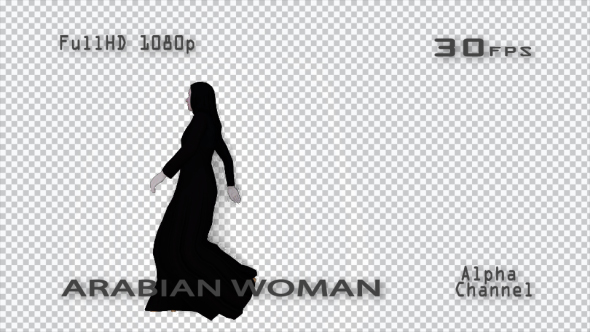 VideoHive Arabian Woman 19633750