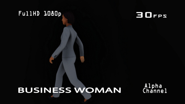 VideoHive Business Woman 19633860