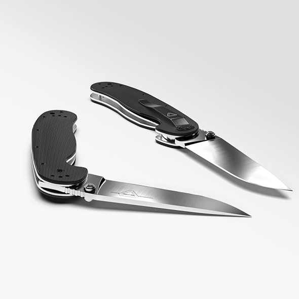 knife ontario rat 1 - 3DOcean Item for Sale