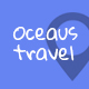 OCEAUS - Multipurpose Travel Booking PSD Template