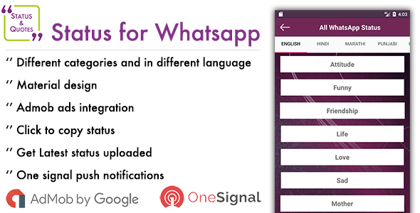 Status for Whatsapp (Full Applications) Download