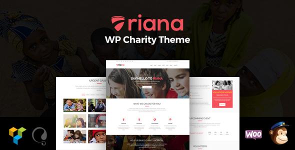 Riana - WordPress Charity Theme