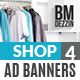Store Discount Banners