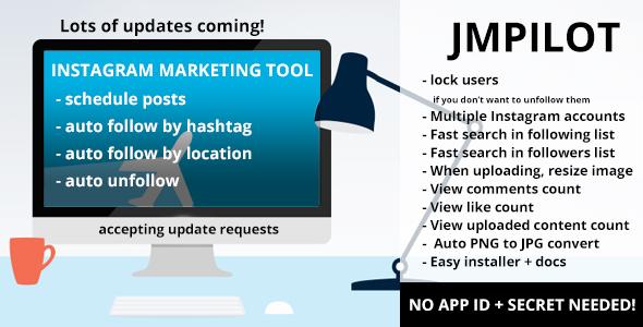 Download JMPilot - Instagram Marketing Tools