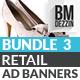 Retail Banner Ads - Bundle 3