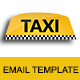 TAXI - Multipurpose Responsive Email Template With Stamp Ready Builder Access