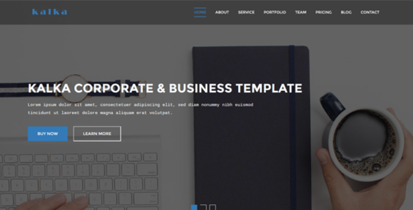 kalka - Responsive Business & Corporate Template