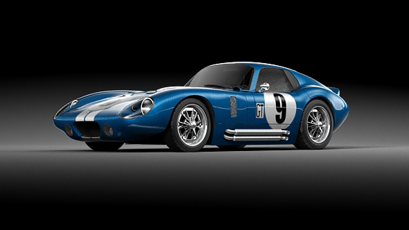 Shelby Cobra Daytona 1964 - 3DOcean Item for Sale