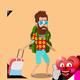 The Hippy Traveler Animation