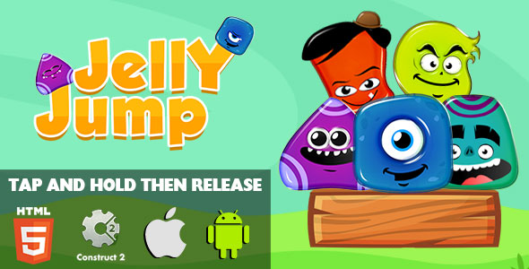 Download Jelly Jump - HTML5 Game (CAPX)