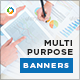 HTML5 Multi Purpose Banners - GWD - 7 Sizes(NF-CC-161)