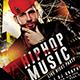 Hip Hop Event Music Flyer