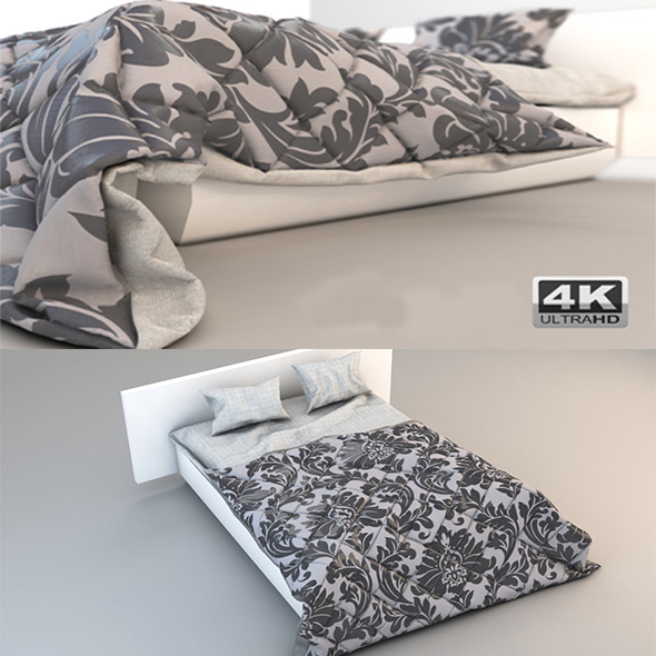 3DOcean Bed 07 high detail 19638034