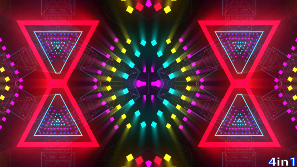 VideoHive VJ Neon Colorful Lights 19638383