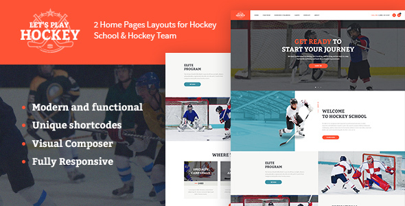Download Let's Play | Hockey School & Sport Theme