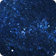 Looking into Space Blue Nebula Starfield
