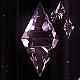 Crystal Flying Background