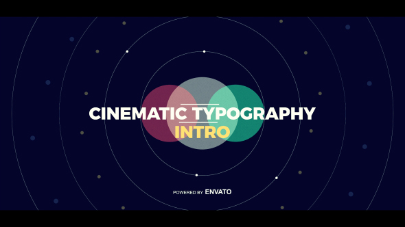 cinematic typography intro by nick chvalun videohive. Black Bedroom Furniture Sets. Home Design Ideas