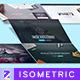 Isometric Web n App Mockup 3